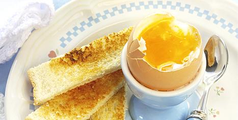 Le secret de l'œuf à la coque | Bouger, manger pour votre santė | Scoop.it