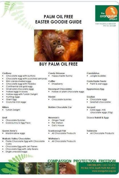 Palm Oil Free Foods | Geography | Scoop.it