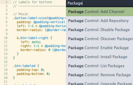 18 Essential Plugins to Get More Out Of SublimeText | IDE par M.BRACCINI | Scoop.it
