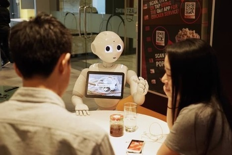 Personable Pepper robot gets a job in a pizza joint | Cyborg Lives | Scoop.it