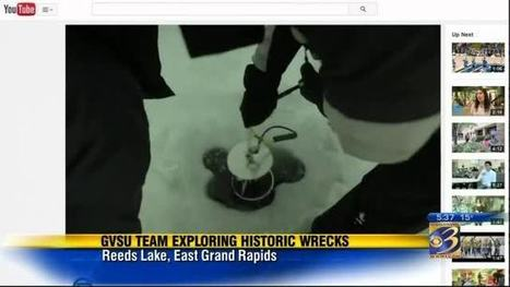 GVSU students, professors brave cold to explore shipwrecks - WWMT-TV | ScubaObsessed | Scoop.it