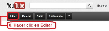 Como hacer un vídeo interactivo en Youtube | RED.ED.TIC | Scoop.it