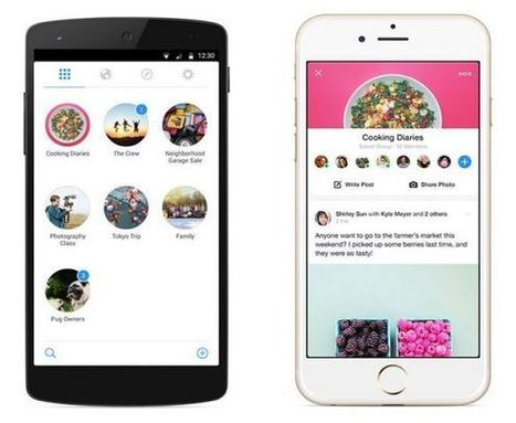 Facebook takes another step backwards with a new Groups apps | Kore Social Mix | Scoop.it