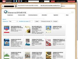 INGebook: plataforma para bibliotecas y estudiantes de libros de texto electrónicos universitarios en español | El rincón de mferna | Scoop.it