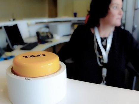 Un bouton connecté pour que les taxis dégainent plus vite qu'Uber | Objets connectés | Scoop.it
