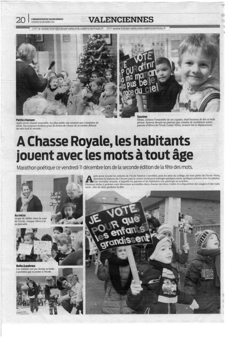 A Chasse Royale, les habitants jouent avec les mots à tout âge | Revue de presse | Scoop.it