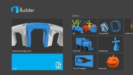 Ya puedes imprimir tus objetos 3D desde tu Windows 8.1 | Tecnologías Microsoft | Scoop.it