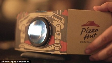 Pizza Hut launches a box that doubles as a projector | BUZZ & VIRAL MARKETING | Scoop.it