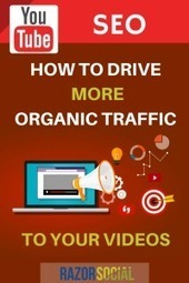 Youtube SEO - How to drive more organic traffic to your videos | Social Media, SEO, Mobile, Digital Marketing | Scoop.it
