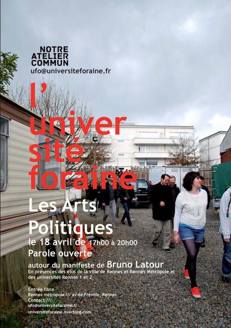 La rencontre du 18 avril à Rennes / Parole ouverte autour du manifeste compositionniste de Bruno Latour | Art, Culture & Société | Scoop.it