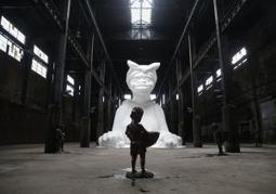 Art installation at old Domino Sugar refinery honors black workers - New York Daily News | girls who art & graffiti | Scoop.it