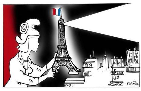 Cartooning for Peace condamne les tragiques attentats survenus dans la nuit du 13 au 14 novembre à Paris | Dessinateurs de presse | Scoop.it