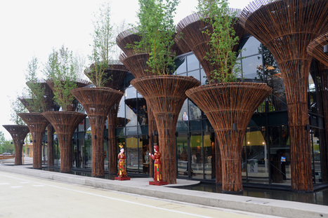 bamboo vietnam pavilion by vo trong nghia architects at expo milan 2015 | Inspired By Design | Scoop.it