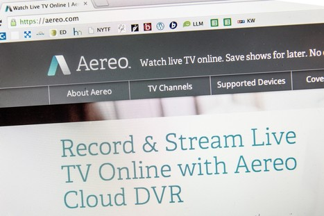 Supreme Court justices cautious about broadcasters' bid to shut Aereo | txwikinger-law | Scoop.it