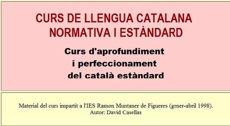 Curs de català   Ensenyar català   Scoop.it