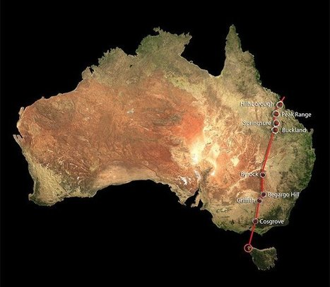 World's longest continental volcanic chain has been discovered in Australia - ScienceAlert | NetGeology | Scoop.it