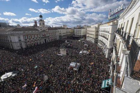 Espagne: des dizaines de milliers de partisans de Podemos dans la rue à Madrid | Union Européenne, une construction dans la tourmente | Scoop.it