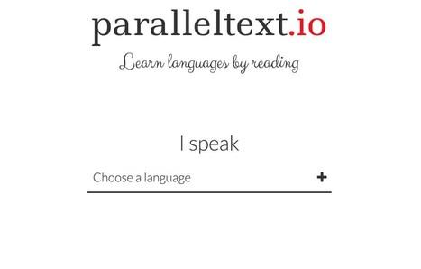 Paralleltext. Apprendre une langue en lisant et en écoutant de grands textes | Time to Learn | Scoop.it