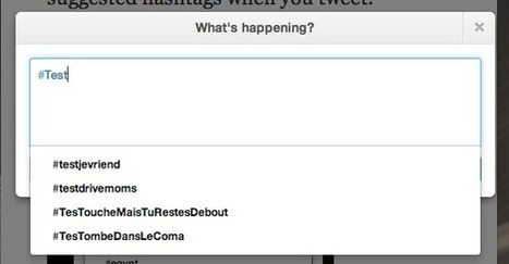 Twitter Now Suggests Hashtags As You Compose A Tweet - AllTwitter | Litteris | Scoop.it