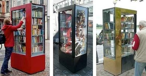 BücherboXX, micro-bibliothèque à Wuppertal [video] | bibliotheques, de l'air | Scoop.it