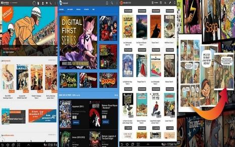 Les 10 meilleures applications pour lire BD, mangas et comics sur Android | BiblioLivre | Scoop.it