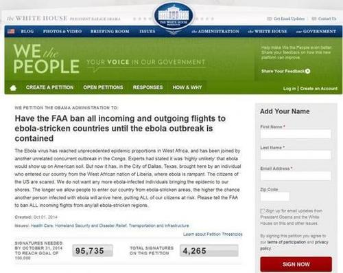 #ALERT 'Sign Petition To Ban Flights From Ebola Countries' ; Two Removed From Newark Airplane By Hamzat Crew   Zero Hedge