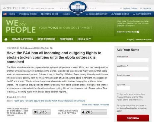 #ALERT 'Sign Petition To Ban Flights From Ebola Countries' ; Two Removed From Newark Airplane By Hamzat Crew | Zero Hedge