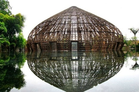 Amazing Bamboo Dome Constructed Without Any Nails | Art curiosities | Scoop.it