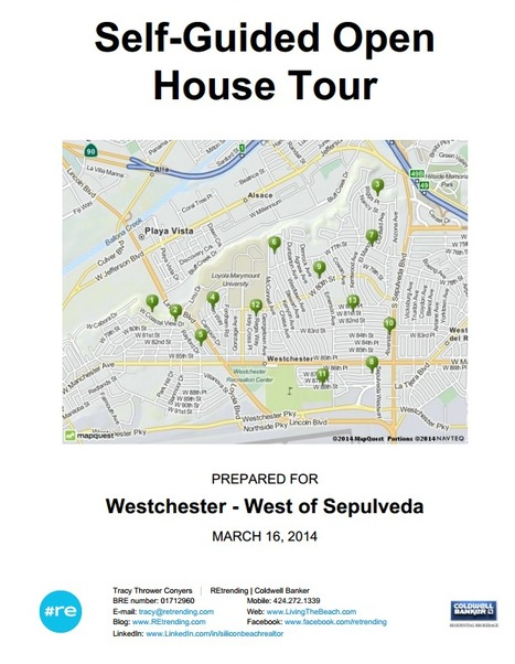 Westchester CA Real Estate Open House Self-Guided Tour for 3/16/2014 - West of Sepulveda Edition | 90045 Trending | Scoop.it