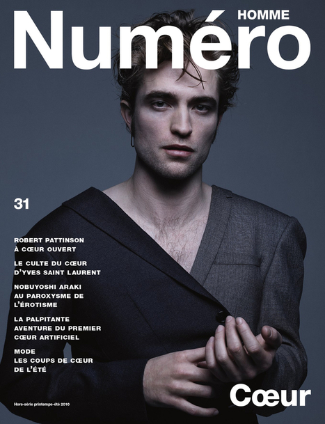 Robert Pattinson Graces The Cover Of Numero Magazine - DIOR Homme Promo | Robert Pattinson Daily News, Photo, Video & Fan Art | Scoop.it
