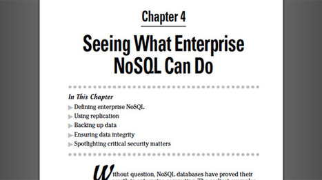 Enterprise NoSQL for Dummies - Enterprise NoSQL for Dummies | NoSQL Databases | Scoop.it