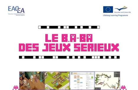 EduGameLab : Le B.A.B.A. des jeux sérieux | LES INFOS DE LA SEMAINE | Scoop.it