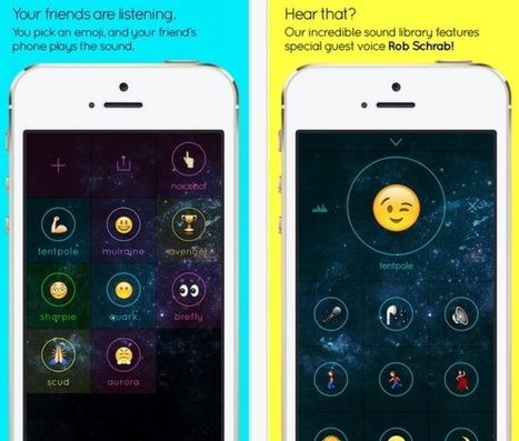 Noice Lets You Send Emoji With Sounds To Friends' Phones | TechCrunch | Alchemy of Business, Life & Technology | Scoop.it