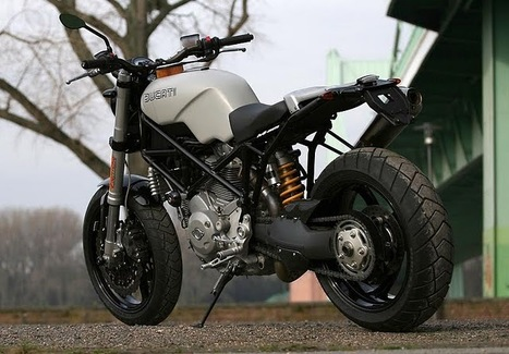 Ducati Monster 1000 scrambler - by JvB | Vintage Motorbikes | Scoop.it
