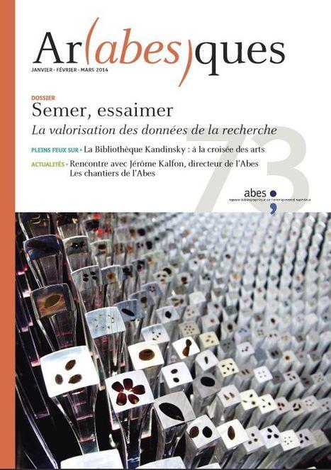 Dossier Semer, essaimer – La valorisation des données de la recherche | Veille sur l'archivage des données de la recherche en bibliothèques | Scoop.it