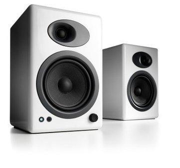 Audioengine A5+ Powered Speakers High Gloss White (Pair   Music Studio UK   Scoop.it