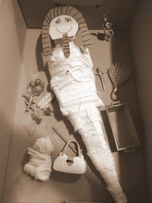 Mummification: Let's Mummify Barbie! - Kids Activities Blog | Archaeology News | Scoop.it