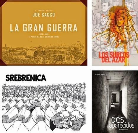encajabaja   Diseño periodístico, Prensa: Periodismo comprometido, periodismo incómodo: una tarde de mayo con Joe Sacco, Paco Roca y Gervasio Sánchez   COMUNICACIONES DIGITALES   Scoop.it