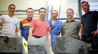 L'équipe de la fonderie du Mont-Blanc | Forge - Fonderie | Scoop.it