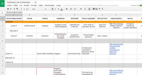 ¿Cómo crear un calendario de contenido?   Social Media 3.0   Scoop.it