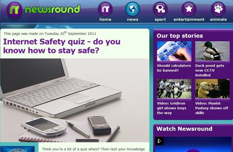 CBBC Stay Safe -  Internet Safety Factsheet | Bullying guides | Scoop.it