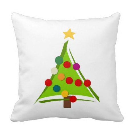 Christmas Tree Throw Pillows   Holiday Decorations   Scoop.it