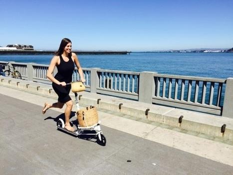 La trottinette cargo, dix fois moins chère qu'un vélo cargo... mais tout aussi écolo | Veille positive de l'actualité durable et de la nouvelle consommation | Scoop.it