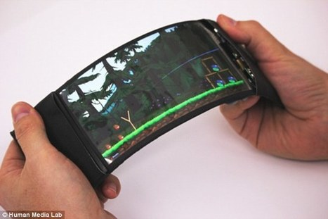 The smartphone that's SUPPOSED to bend | Mobile: Recruitment and Applications | Scoop.it