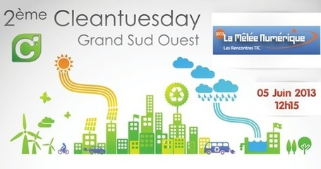 Invitation : 2eme Cleantuesday Grand Sud Ouest | Toulouse La Ville Rose | Scoop.it