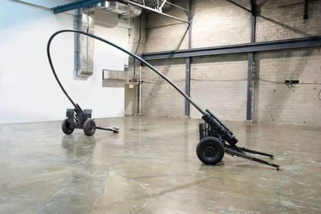 Michel de Broin: Blowback | Art Installations, Sculpture, Contemporary Art | Scoop.it