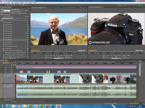 Editing HD video from a DSLR - why a software upgrade may be best | Photography Gear News | Scoop.it