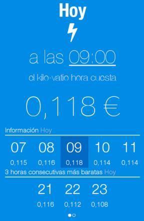 Boltio: la app para conocer el precio del kWh cada hora   Nergiza   Energia   Scoop.it