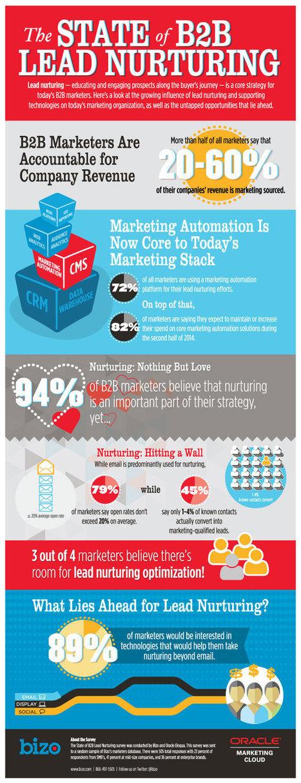 Survey: The State of B2B Lead Nurturing - Digital Marketing Remix | Bizo | Lead Nurturing | Scoop.it