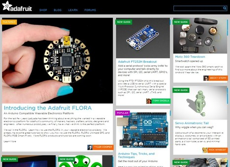 Adafruit Learning System | Ideas For Coding AND MakerSpaces | MakerED | Computer Science in Middle and High Schools | Scoop.it